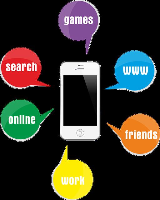 La communication numérique sur smartphone