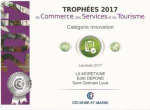 Trophées services CCI innovation