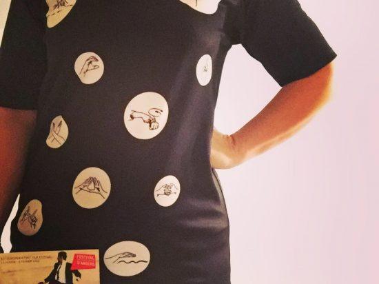 T-shirt communication numérique